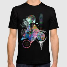 Life SMALL Mens Fitted Tee Black
