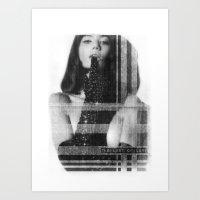 LUST OF LOVE Art Print