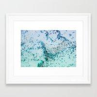NATURAL SEA ART Framed Art Print