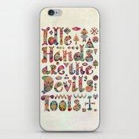Devil's Tools iPhone & iPod Skin