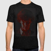 A Study In Scarlet Mens Fitted Tee Tri-Black SMALL