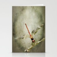 Red Dragon Stationery Cards