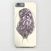 iPhone & iPod Case featuring Bow and Butterfly by Kirsten McNee
