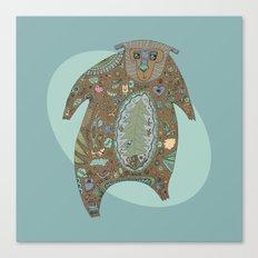 Big Brown Bear Canvas Print