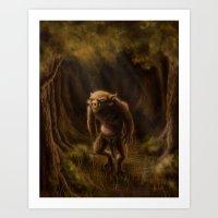 Pequenino & the Father Trees Art Print