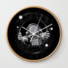 Black Hole Wall Clock
