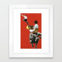 There's No Escape, Or Is… Framed Art Print