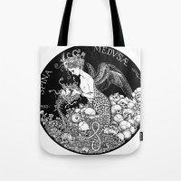 Spina Medusae Tote Bag