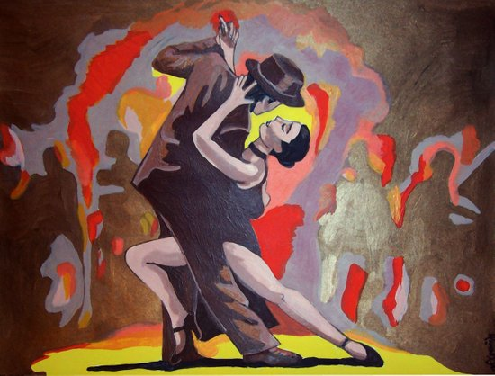 Tango Passion Art Print