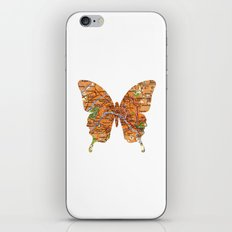 butterfly collection - Paris iPhone & iPod Skin