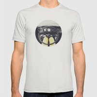 From Behind The Wheel - I Mens Fitted Tee Silver SMALL