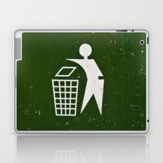 Trash - Put here please! Laptop & iPad Skin