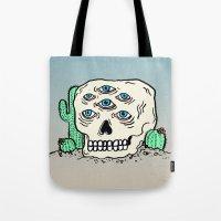 DIE IN THE DESERT Tote Bag