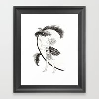 Tink Of Neverland Framed Art Print