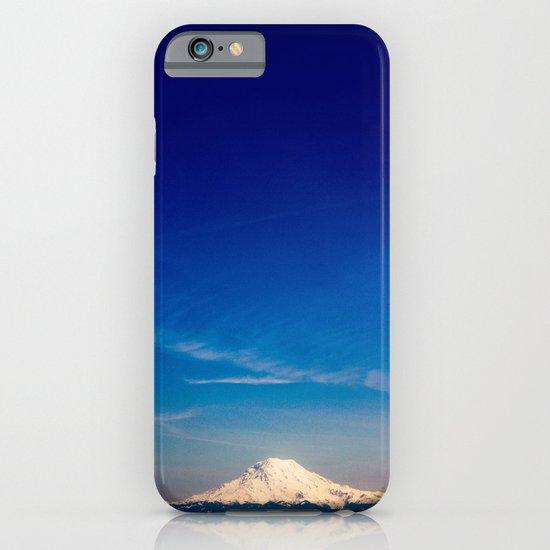 Mt. Rainier . ii iPhone & iPod Case