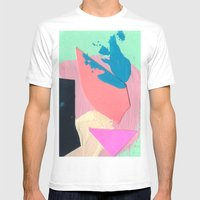 Tiny Two  Mens Fitted Tee White SMALL