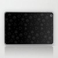 sacred seamless black Laptop & iPad Skin