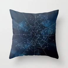 Celestial Map Throw Pillow