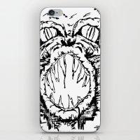 Anger iPhone & iPod Skin