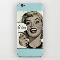OMG!, I'm so Retro iPhone & iPod Skin
