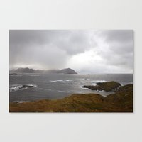 Lofoten Seaview Canvas Print