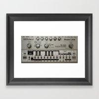 Roland TB303 Acid Bassli… Framed Art Print