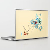 water Laptop & iPad Skins featuring Water Balloons by Alice X. Zhang