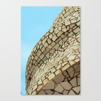 Canvas Print featuring Contrasts by Elise Tyv