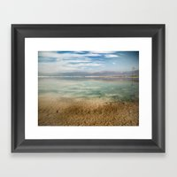 Dead Sea #1 Framed Art Print