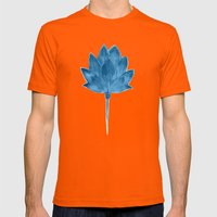 Ascent Mens Fitted Tee Orange SMALL