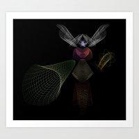 An Invisible Thread Art Print