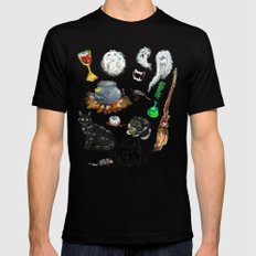 Night of the Witches Mens Fitted Tee SMALL Black