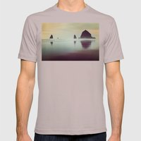 Haystack Rock Mens Fitted Tee Cinder SMALL