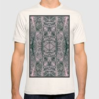 pink woods Mens Fitted Tee Natural SMALL