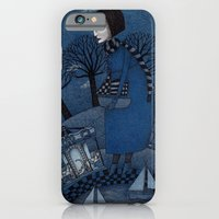 iPhone Cases featuring December Park (1) by Judith Clay