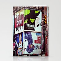 New York City Broadway S… Stationery Cards