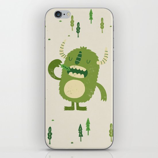 the tree muncher iPhone & iPod Skin