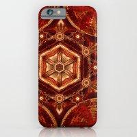 Meditation in Copper iPhone 6 Slim Case