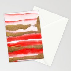 Gold & Apricot Stationery Cards