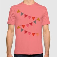 Hooray For Girls! Mens Fitted Tee Pomegranate SMALL