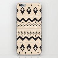 Peach Aztec iPhone & iPod Skin