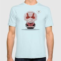 ChibizPop: Ant Mens Fitted Tee Light Blue SMALL