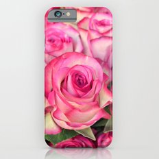 Pink Roses iPhone 6 Slim Case