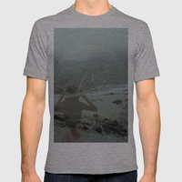 windflow Mens Fitted Tee Athletic Grey SMALL
