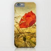 paint a poppy iPhone 6 Slim Case