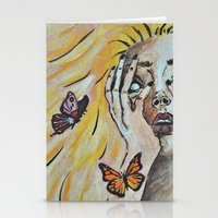 Metamorphosis I Stationery Cards