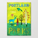 Portland Parks Canvas Print