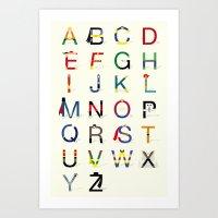 ABC SH Art Print