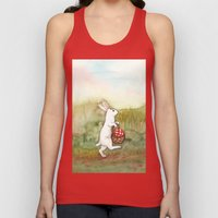 On the Way to the Picnic Unisex Tank Top