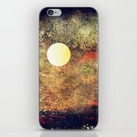 Moon Over The Sea iPhone & iPod Skin
